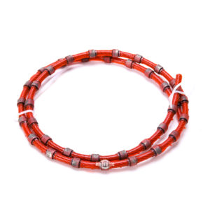 Plastic Diamond Wire Saw 9mm for Granite Block Squaring